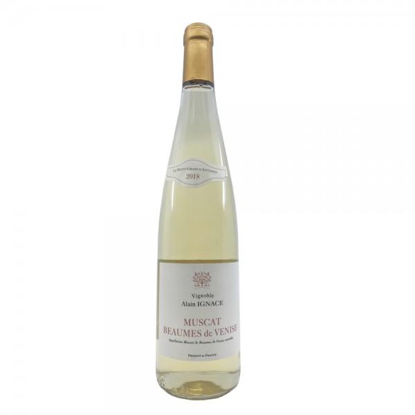 Muscat Beaume de Venise Le petit Grain d'Antonin 2017 Vin Doux Blanc