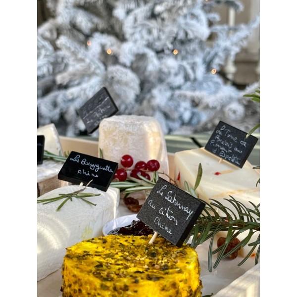 Plateau de Fromages Artisanaux de Noël : Le Berger - Nos plateaux fromages et charcuterie à partager : achat en ligne