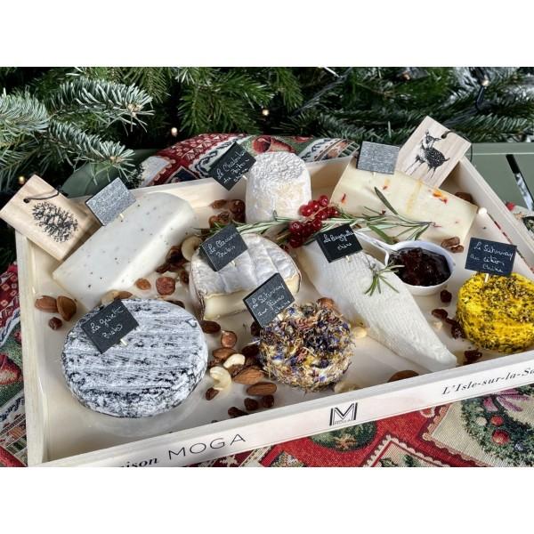 Plateau de Fromages Artisanaux de Noël : Le Berger