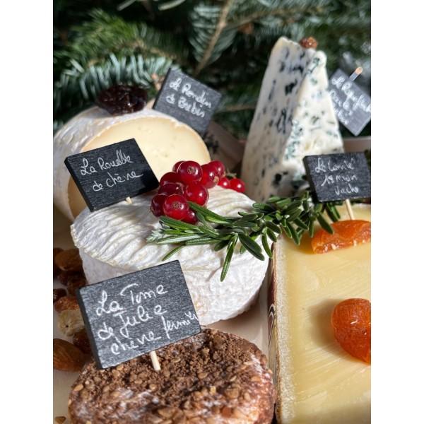 Plateau de Fromages Artisanaux : Le Tradition - Nos plateaux fromages et charcuterie à partager : achat en ligne