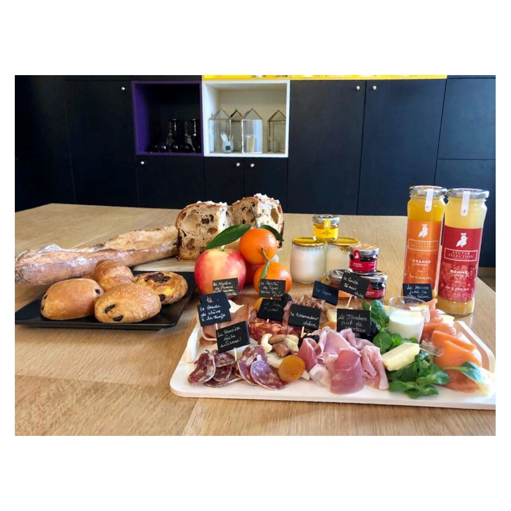 copy of Plateau Apéritif Charcuterie et Fromages Artisanaux - Food board to be shared : online purchase