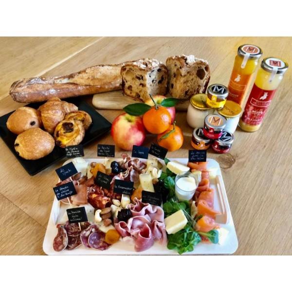 Plateau Brunch à emporter - Nos plateaux fromages et charcuterie à partager : achat en ligne