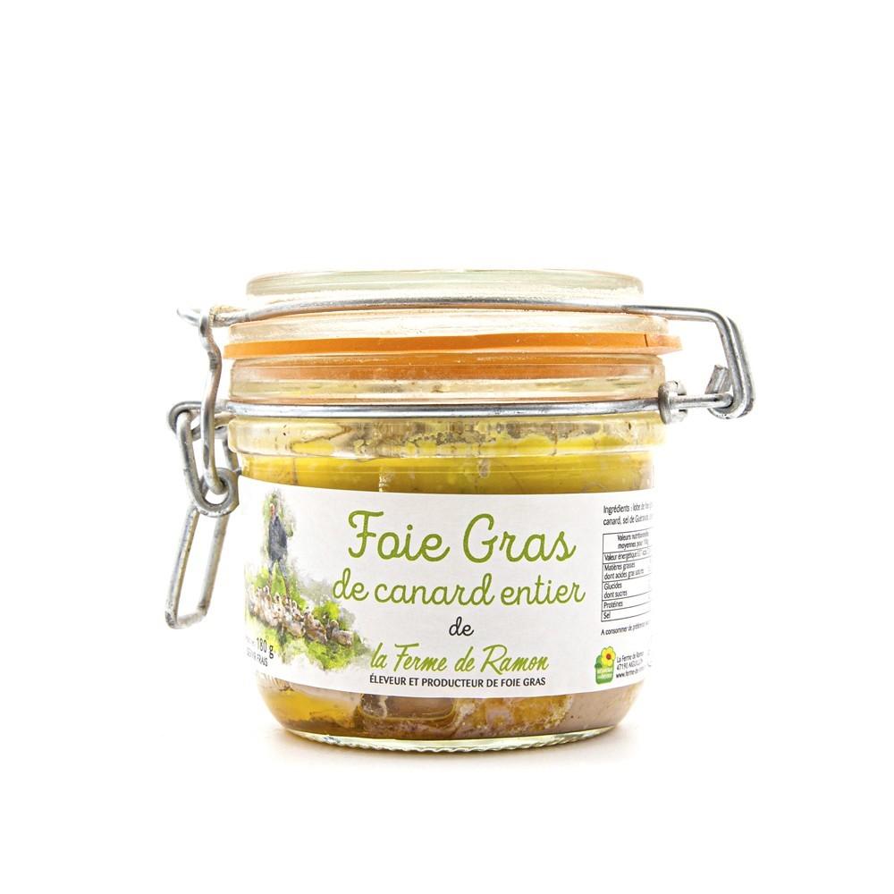 Foie Gras La Ferme de Ramon 180g - Salty fine grocery : online purchase