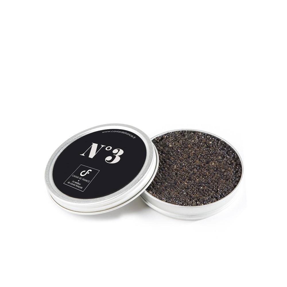 Caviar de France Baeri n°3 - Produit de la mer : achat en ligne