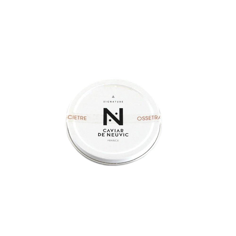 Caviar de Neuvic Oscietre Signature 30g - Produit de la mer : achat en ligne