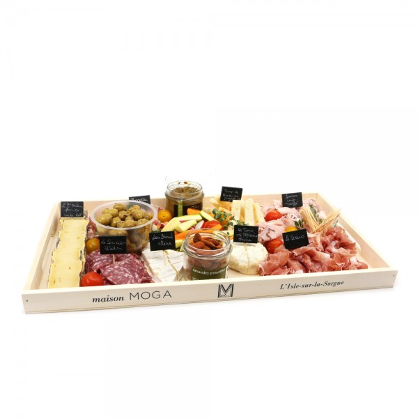 Plateau Apéritif Charcuterie et Fromages Artisanaux - Food board to be shared : online purchase